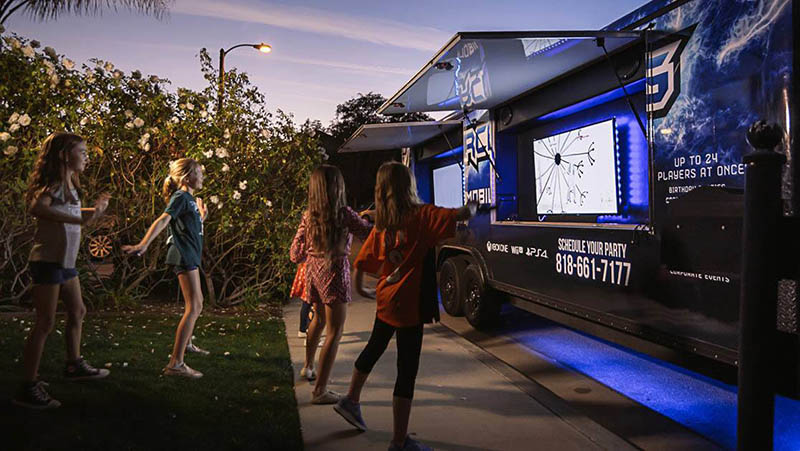 video game trucks for parties