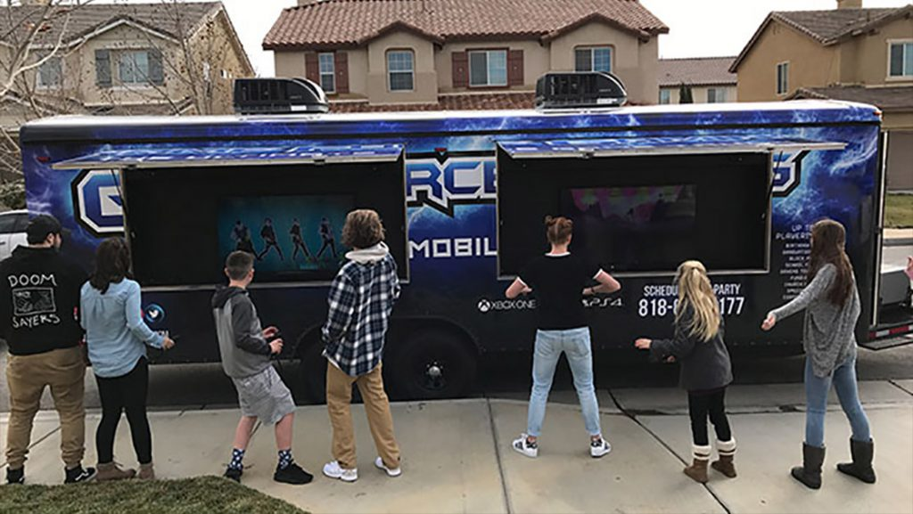Gaming vans in los angeles